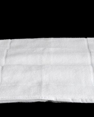 Ταπέτο Μπάνιου Λευκό/Aνθρακί